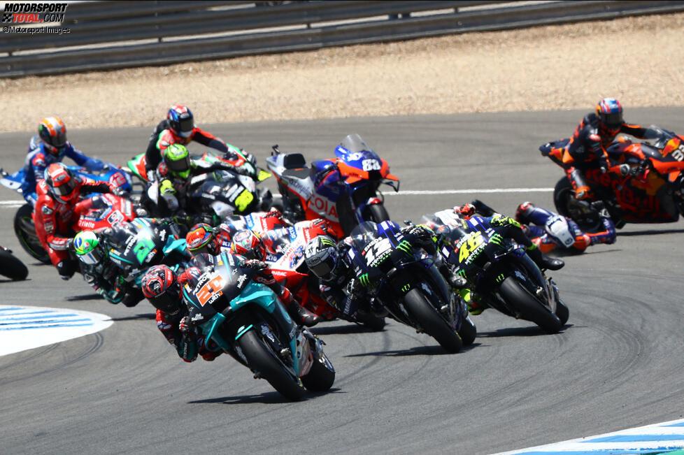 MotoGP Start in Jerez