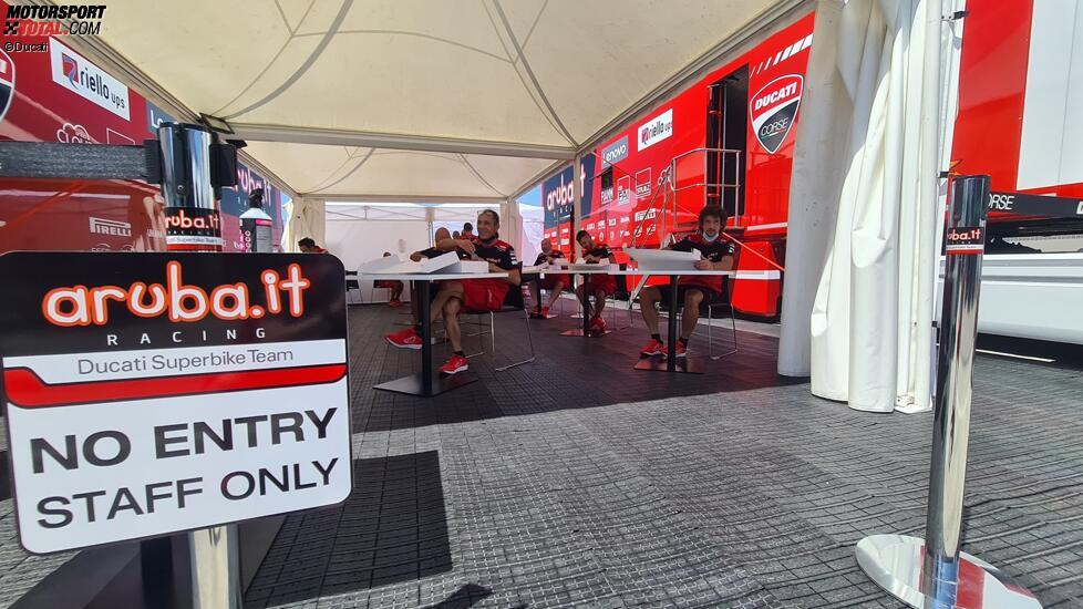 Corona-Maßnahmen bei Ducati