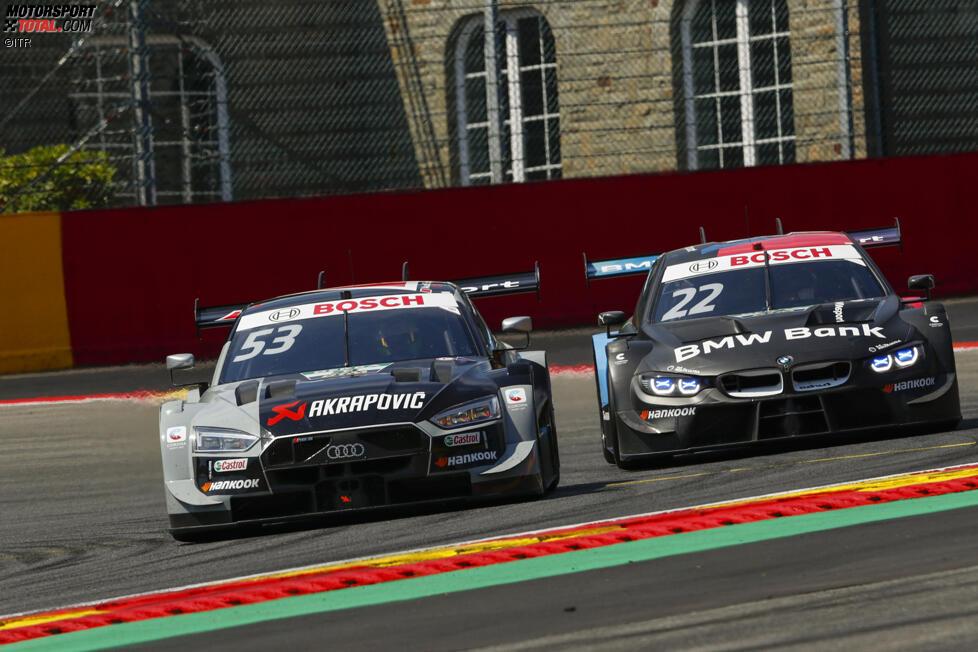 Jamie Green (Rosberg-Audi) und Lucas Auer (RMG-BMW)