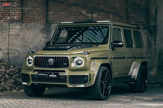 Brabus 700 im Army-Look by Fostla