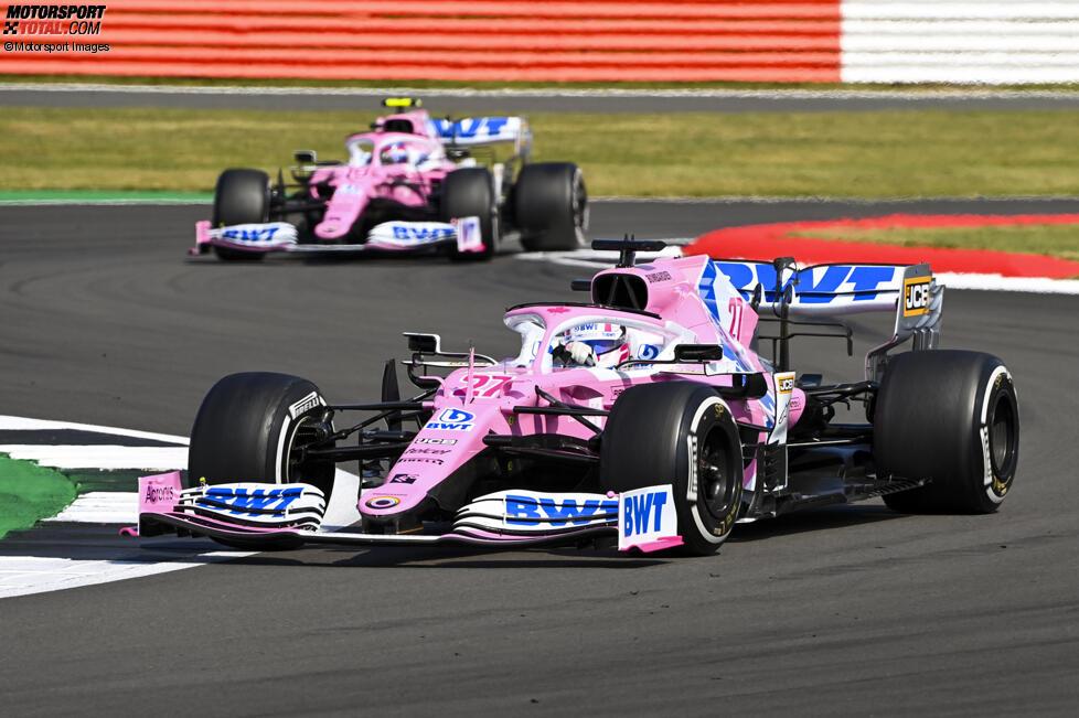 Nico Hülkenberg (Racing Point) und Lance Stroll (Racing Point)
