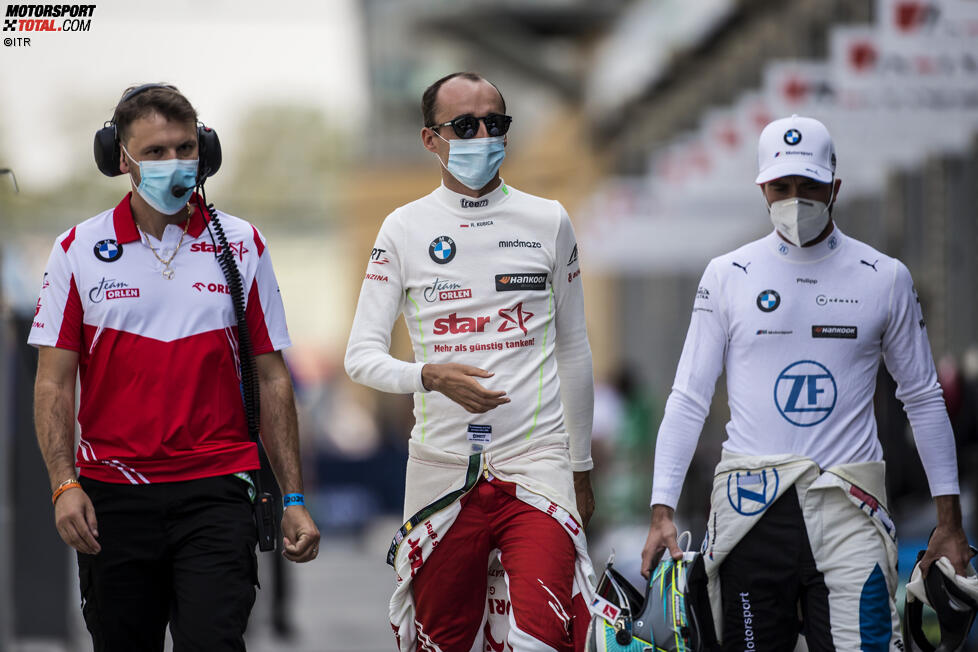 Robert Kubica (ART) und Philipp Eng (RBM-BMW)