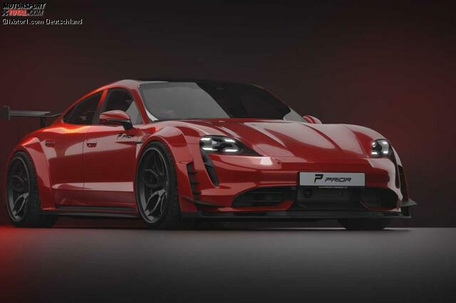 Porsche Taycan Turbo S von Prior Design