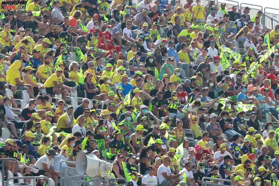 Rossi-Fans in Misano
