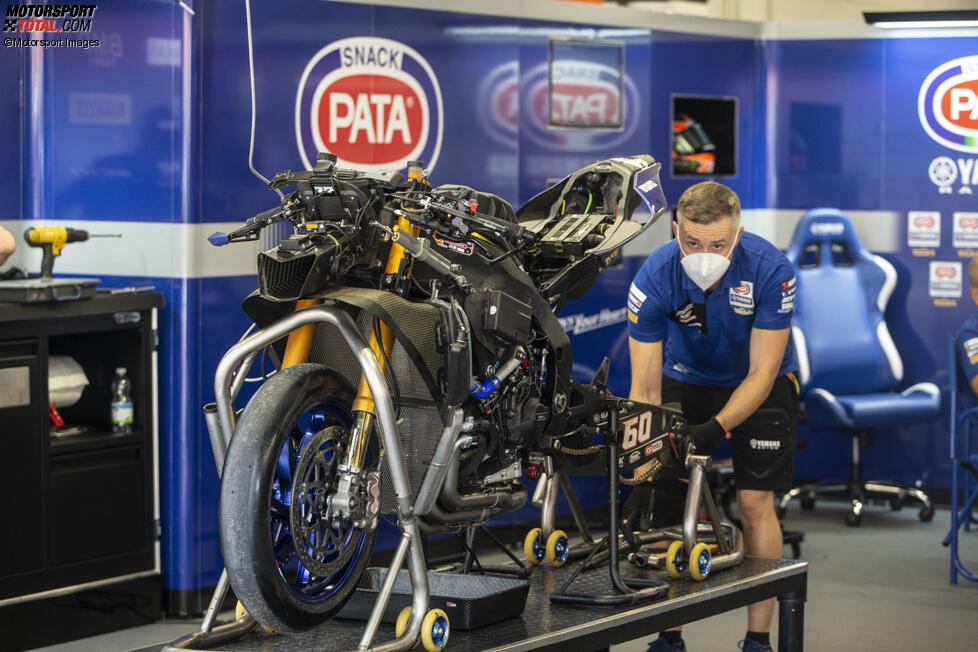 Die Yamaha R1 von Michael van der Mark