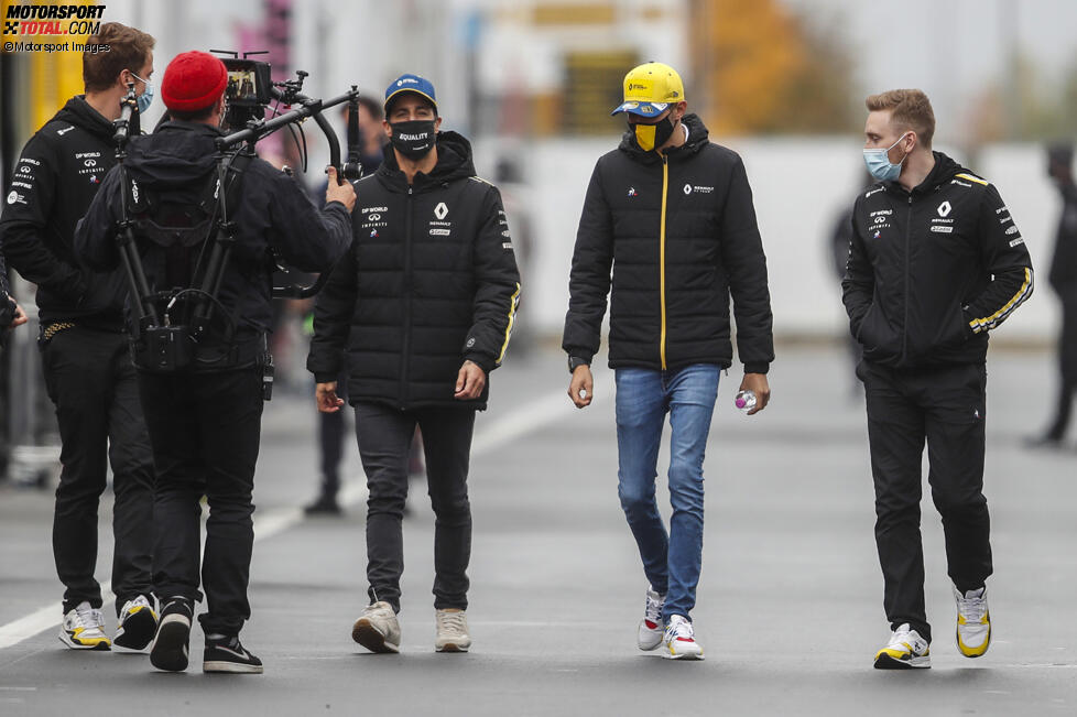Daniel Ricciardo (Renault) und Esteban Ocon (Renault)