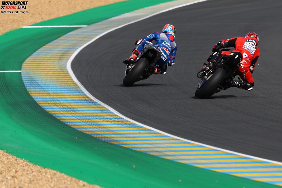 Alex Rins (Suzuki) und Danilo Petrucci (Ducati)