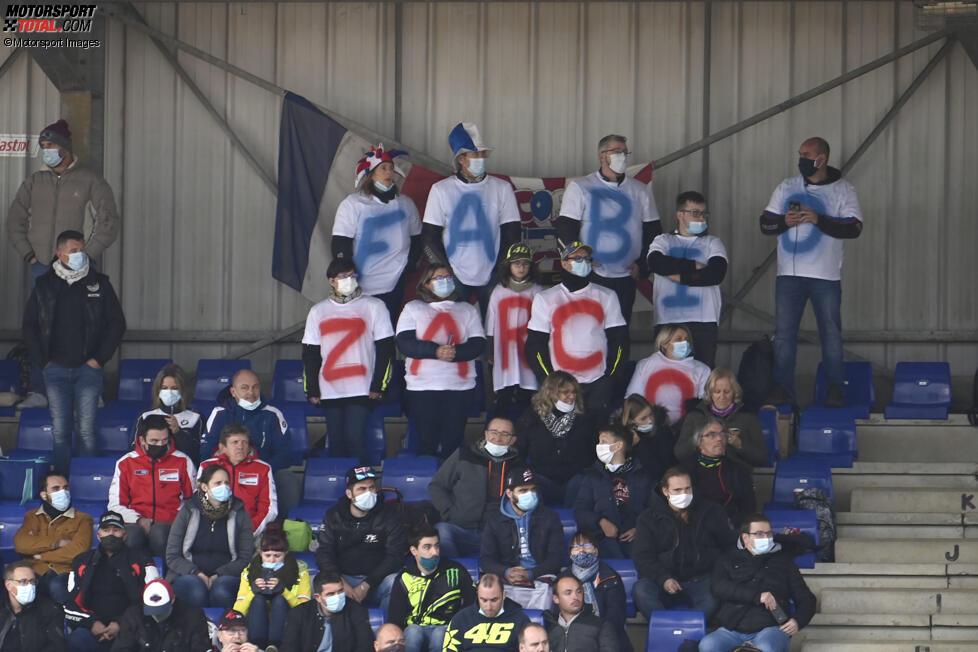 Fans von Fabio Quartararo und Johann Zarco