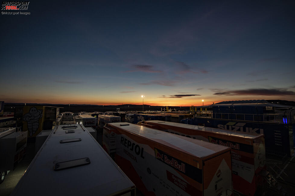 Sonnenuntergang Aragon