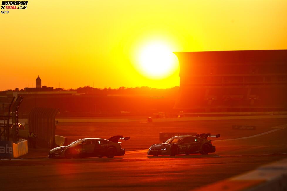 Jamie Green (Rosberg-Audi) und Philipp Eng (RBM-BMW)