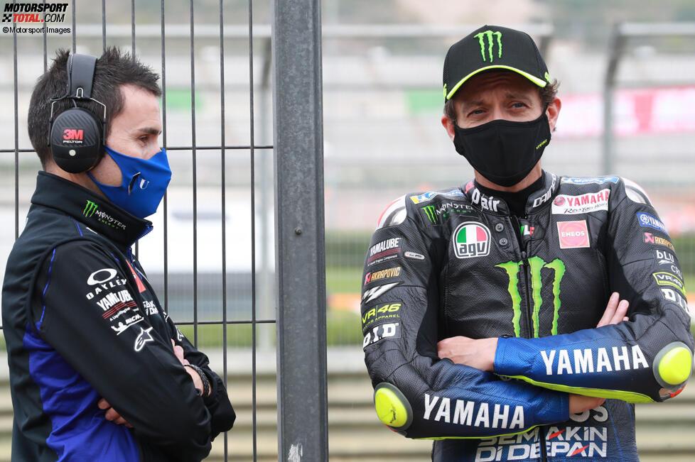 David Munoz und Valentino Rossi
