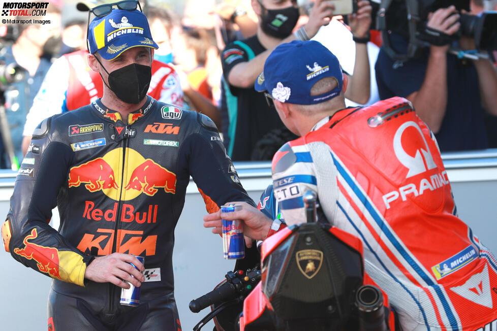 Pol Espargaro (KTM) und Jack Miller (Pramac)
