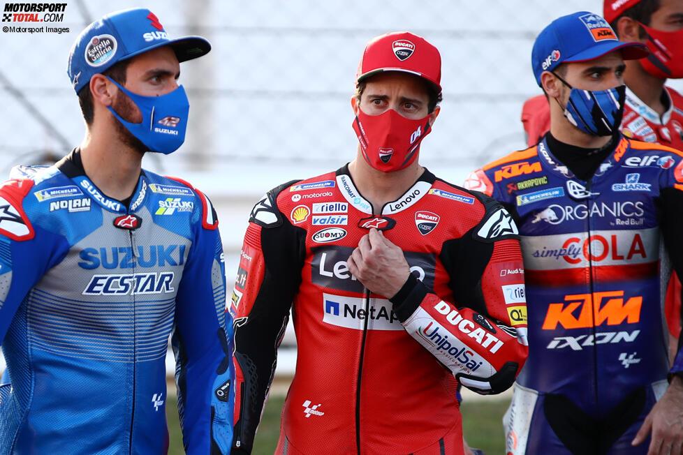Alex Rins (Suzuki) und Andrea Dovizioso (Ducati)