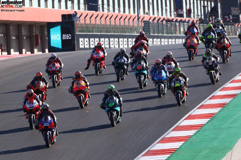 MotoGP-Start in Portimao