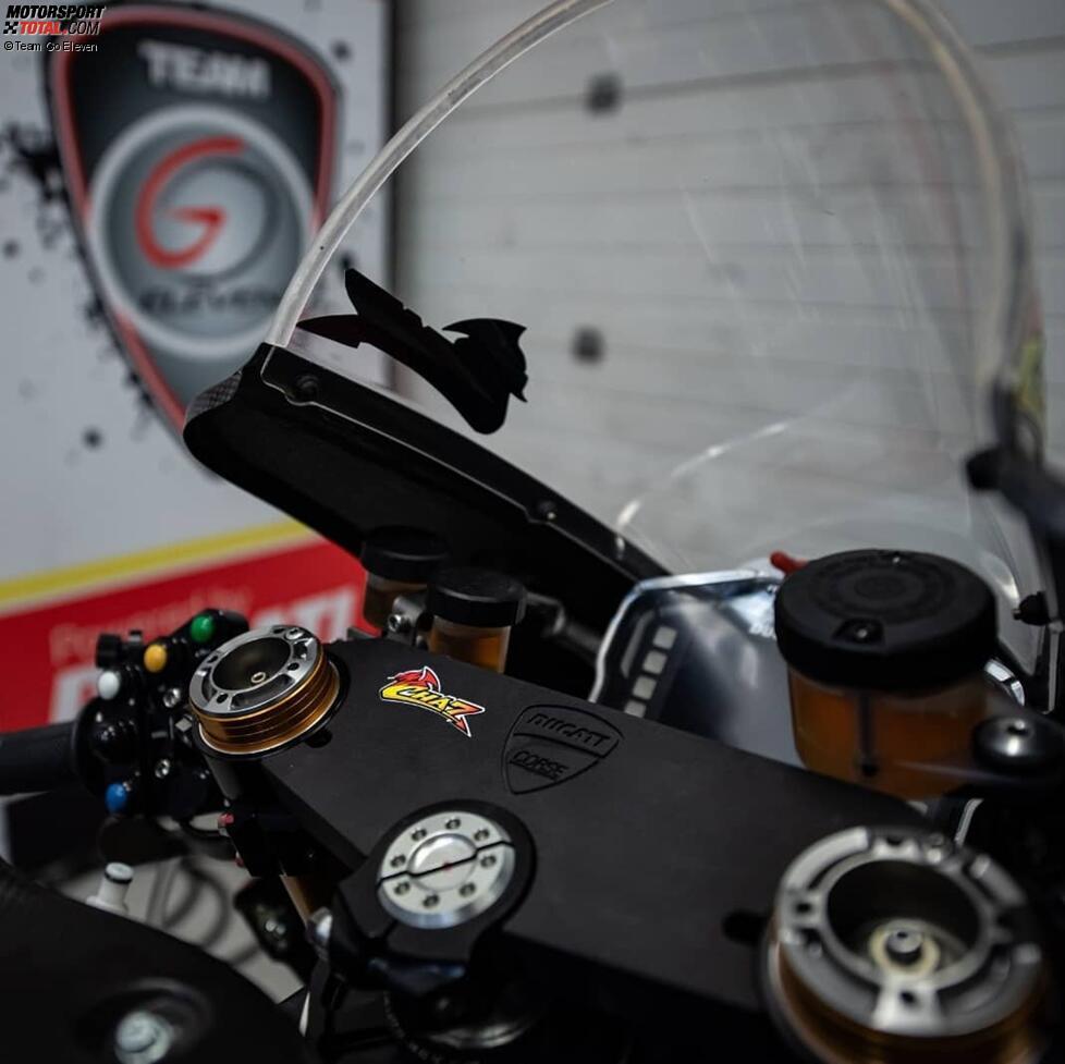 Die Ducati Panigale V4R von Chaz Davies