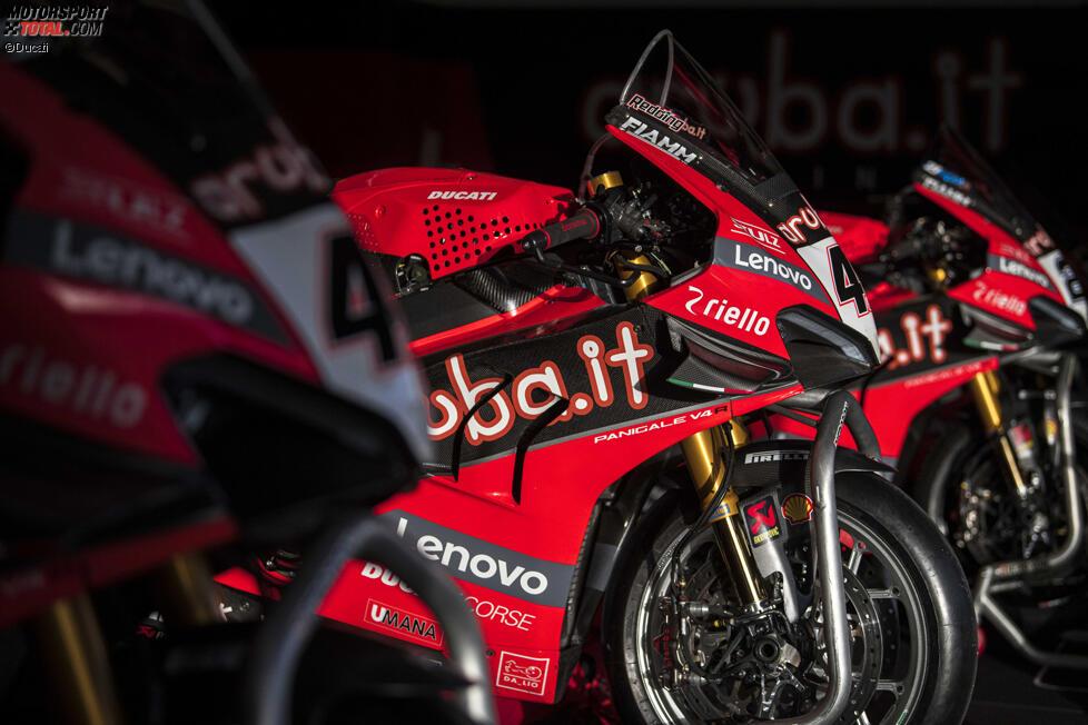 Die Ducati Panigale V4R von Scott Redding