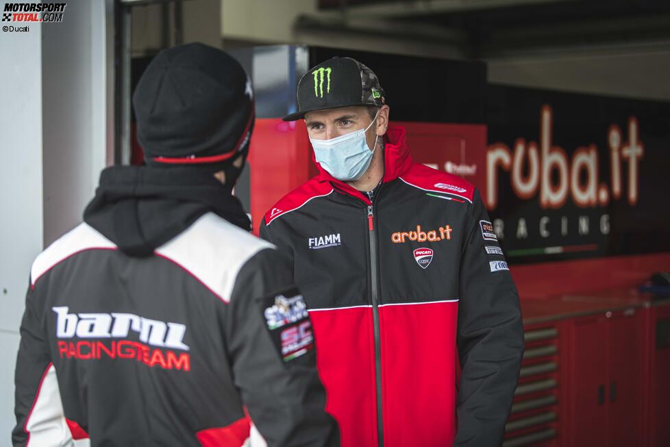 Tito Rabat mit Scott Redding