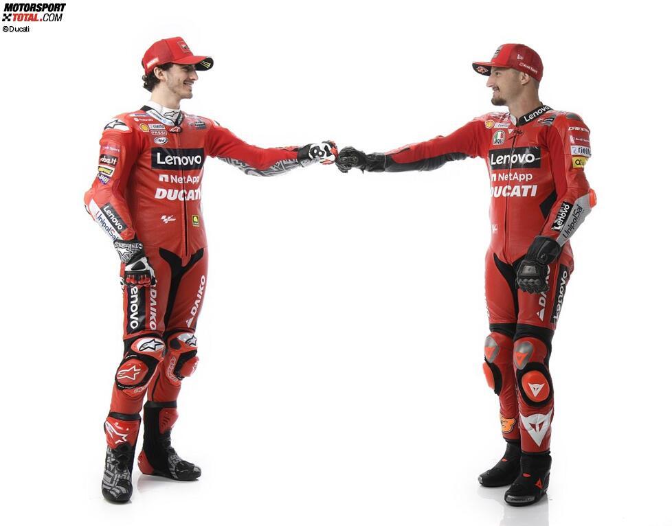 Francesco Bagnaia und Jack Miller (Ducati)