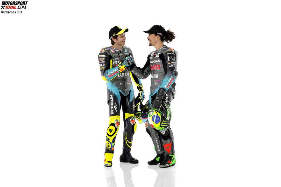 Valentino Rossi und Franco Morbidelli