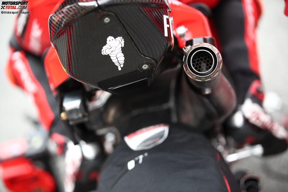 Akrapovic Auspuff bei Ducati