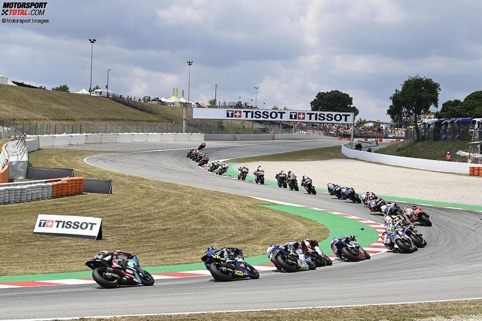 Moto2 in Barcelona