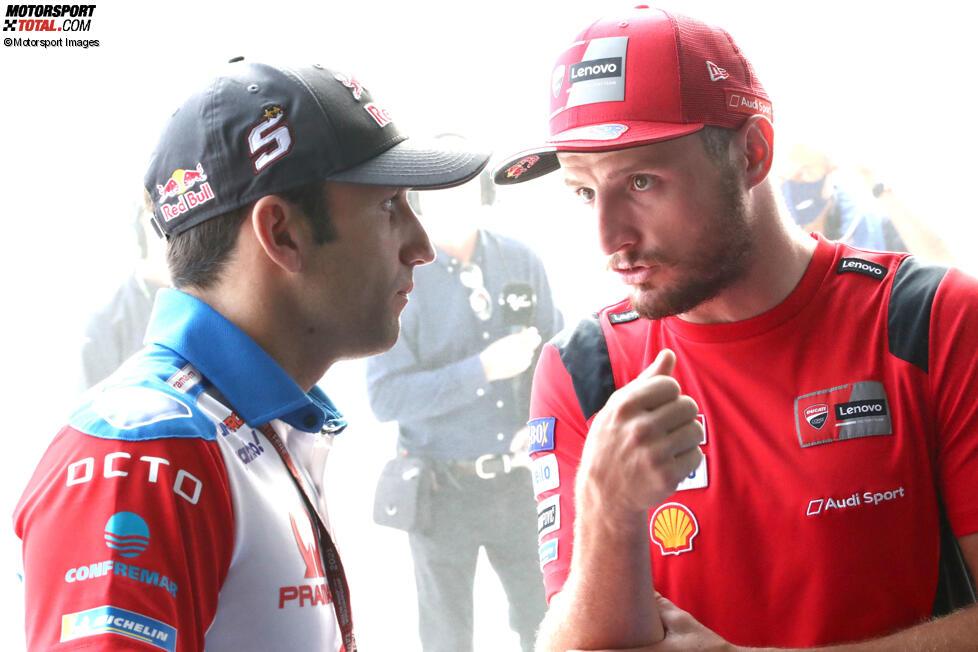 Johann Zarco (Pramac) und Jack Miller (Ducati)