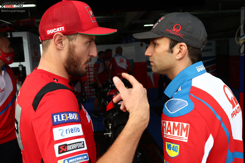 Jack Miller (Ducati) und Johann Zarco (Pramac)