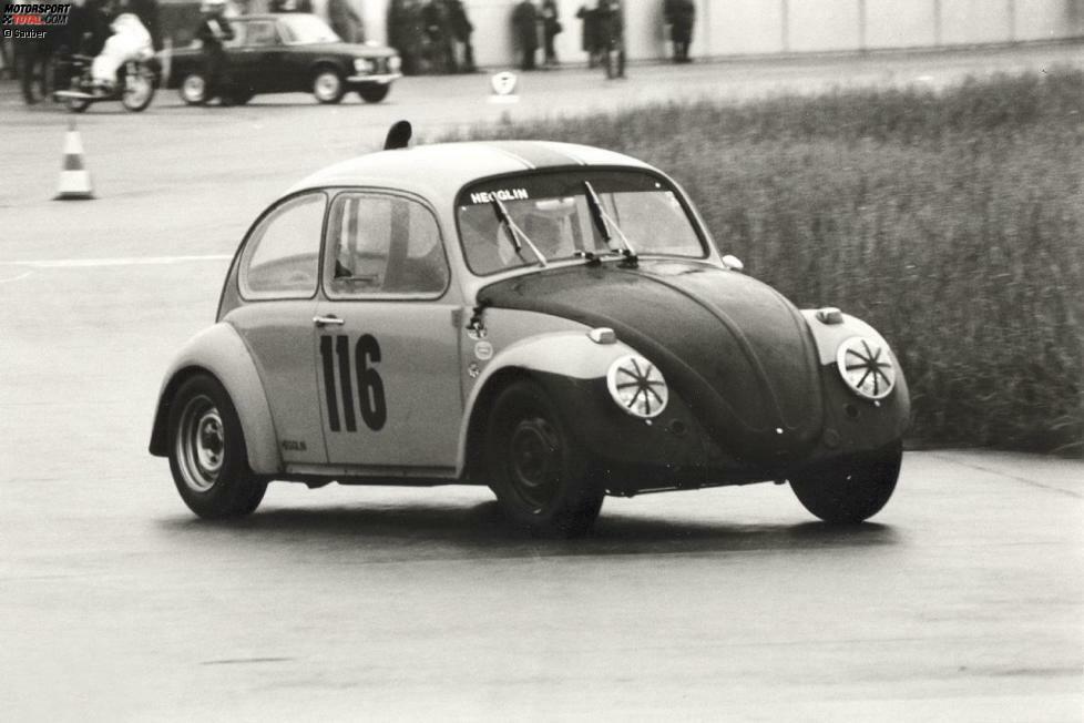 Mit einem VW Käfer fing alles an: Peter Sauber fuhr damit zuerst zur Arbeit und nahm dann an Klubrennen teil. Zunächst nur zum Spaß...