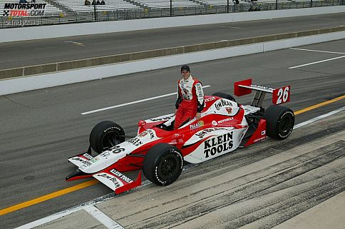 2003 schaffte Dan Wheldon den Sprung in das Team von Michael Andretti