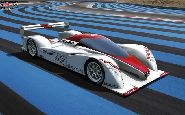 Im Jahr 2006 stellte Peugeot zunächst die Studie eines Prototypen vor, baute anschließend die ersten Chassis auf.