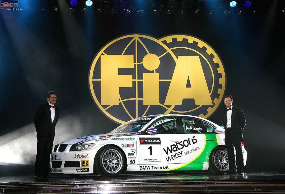 2006: Wieder sind es Andy Priaulx und der damalige BMW-Motorsport-Direktor Mario Theissen, die bei der FIA-Gala die WM-Pokale entgegennehmen dürfen. In der zweiten WTCC-Saison ist der Wettbewerb aber enger: BMW verteidigt den WM-Titel trotzdem mit 254 Punkten vor SEAT (235), Alfa Romeo (154) und Chevrolet (128).