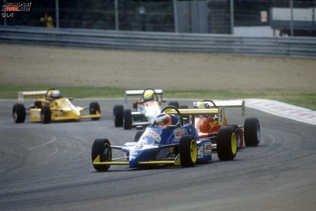 Früh übt sich, wer Meister werden will: Rubens Barrichello kommt als vielversprechende Kart-Hoffnung aus Südamerika nach Europa - und wird 1990 auf Anhieb Meister in der Formel Vauxhall Lotus. Die Szene ist baff.