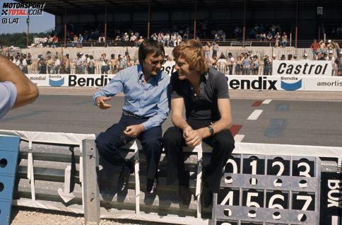 1969 trafen sich Bernie Ecclestone und Max Mosley zum ersten Mal, im Rahmen eines Formel-2-Rennens. Erst bei einem Meeting der damaligen Formula One Constructors Association (FOCA) im Jahr 1971 kam es aber zum ersten Gespräch der beiden Männer, die die Kontrolle über die Königsklasse des Motorsports schon bald an sich reißen sollten.