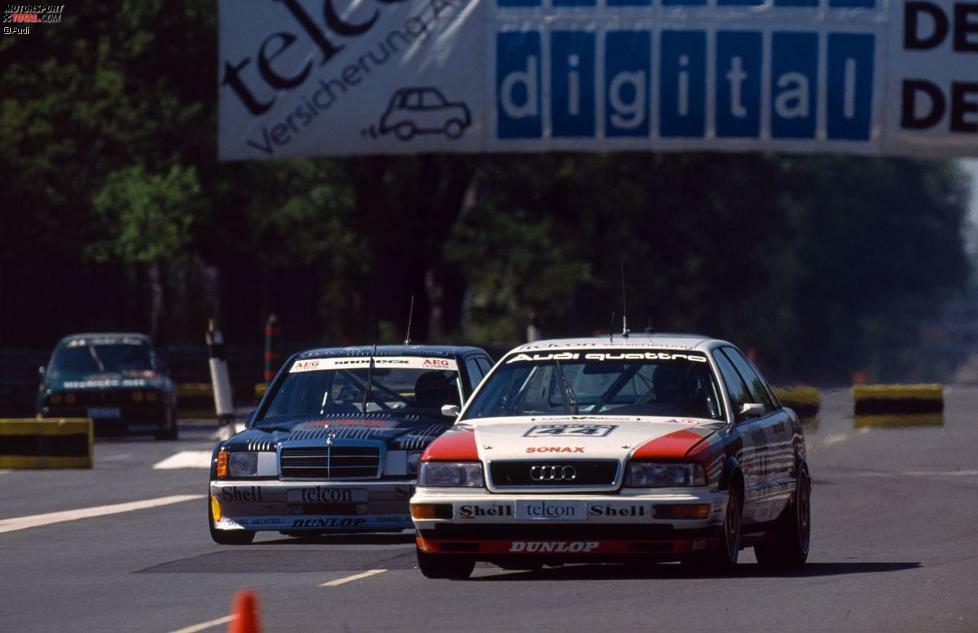 Er war von Anfang an dabei: Hans-Joachim Stuck startete nach 72 Formel-1-Starts gemeinsam mit der DTM durch. Im Gründungsjahr 1984 begann er seine Karriere bei BMW, krönte sie 1990 mit dem Meistertitel für Audi und beendete sie 1996 hinter dem Steuer eines Opel Calibra. Insgesamt hat Stuck 13 Laufsiege auf dem Konto.