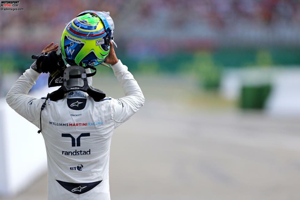 Ver de novo, Felipe Massa! Der 35-jährige Brasilianer wollte Ende 2016 seinen Helm an den Nagel hängen. Zumindest, wenn es um die Formel 1 geht. Doch Williams holt den Routinier noch einmal zurück. Wir zeigen dir seine Karriere in der Fotostrecke!