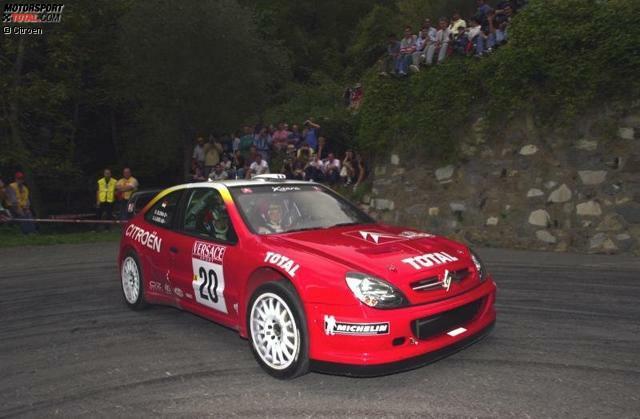 Für seine gute Leistungen in der französischen Meisterschaft belohnt Citroen Loeb 2001 mit seinem ersten WRC-Start bei der Rallye Sanremo, wo Loeb sensationell Zweiter wird.