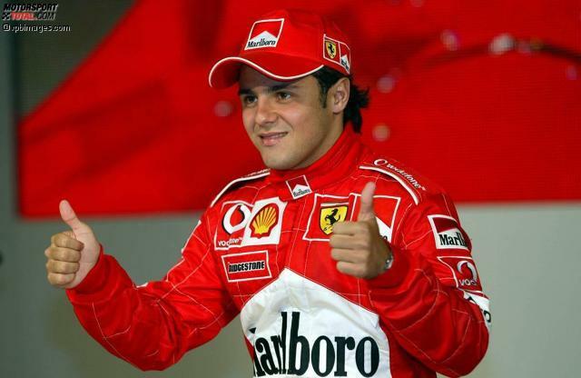 In der Saison 2003 fuhr Felipe Massa zum ersten Mal für Ferrari