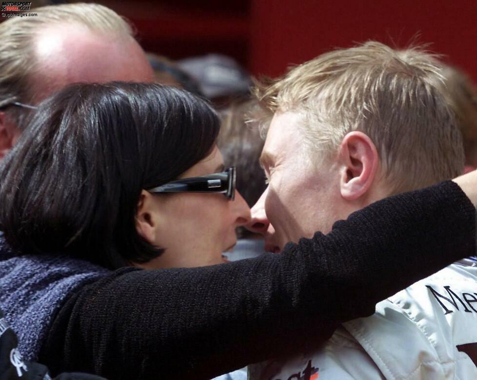 Das Traumpaar der Formel 1: Mika Häkkinen lernt Erja Honkanen, damals Fremdenführerin in Nizza, Anfang der 1990er-Jahre kennen.