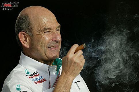 Zum 70. Geburtstag von Peter Sauber: Wir blicken zurück auf das Leben und Wirken des Rennstall-Gründers aus der Schweiz, der in den vergangenen Jahrzehnten nicht nur in der Formel 1 für Aufsehen gesorgt und manchem späteren Siegfahrer die erste Chance gegeben hat. Und für noch etwas ist der 1943 in Zürich geborene Sauber bekannt: Für die Zigarre, die er sich gern mal gönnt, wenn sein Team wieder einen Erfolg erzielt hat.