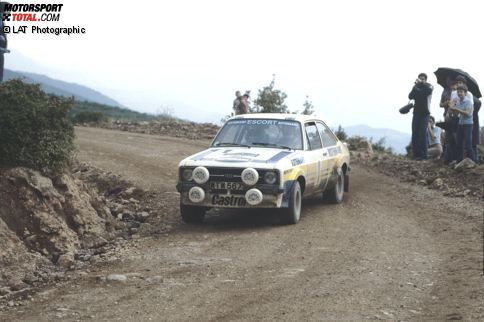 1979 Björn Waldegaard/Hans Thorszelius (Schweden) Ford Escort