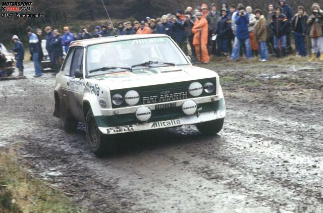 1980 Walter Röhrl/Christian Geistdörfer (Regensburg/München) Fiat 131