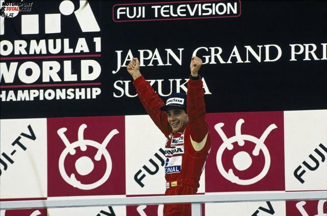 1988: Alain Prost muss das vorletzte Rennen wegen der Streichresultate-Regel unbedingt gewinnen, um überhaupt Punkte gutgeschrieben zu bekommen und seine Chancen gegen Ayrton Senna am Leben zu erhalten. Senna, neu im McLaren-Team, sichert sich die Pole, würgt aber am Start den Motor ab und startet vom 14. Platz eine Aufholjagd. Bei einsetzendem Regen trumpft