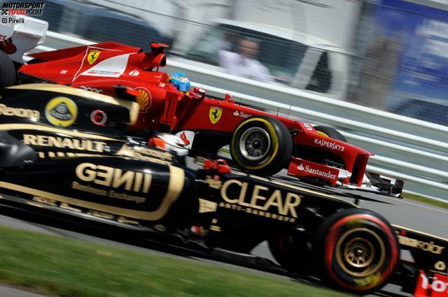 Fernando Alonso versus Kimi Räikkönen: Das ist das Duell, das im Jahr 2014 die ganze Formel-1-Welt sehnsüchtig erwartet. Nach derzeitigem Stand der Dinge ist es die einzige Fahrerpaarung, bei der zwei Ex-Weltmeister aufeinandertreffen, zwei ganz eigene Charaktere noch dazu. Doch schon früher gab es so viel Zündstoff...