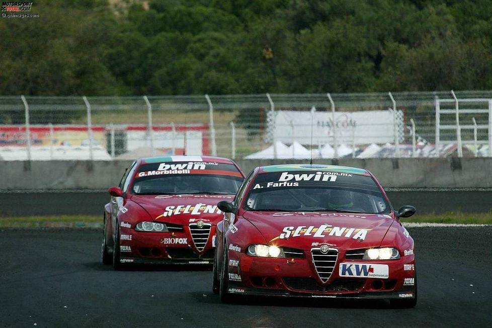 Alfa Romeo war von 2005 bis 2007 in der WTCC vertreten. Dem Werkseinsatz im ersten Jahr folgten zwei Saisons mit dem Privateinsatz von N.Technology, ehe sich die Marke aus der WTCC zurückzog. In 62 Rennen siegte Alfa Romeo 14 Mal, holte 37 Podestplätze und zehn Pole-Positions sowie 13 schnellste Runden.