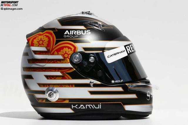 #10 Kamui Kobayashi (Caterham-Renault), Japan, 27 Jahre alt