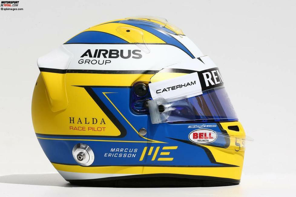 #9 Marcus Ericsson (Caterham-Renault), Schweden, 23 Jahre alt