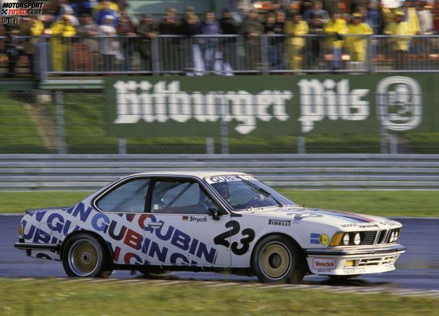 1984: BMW 635 CSi (Volker Strycek/Deutschland)