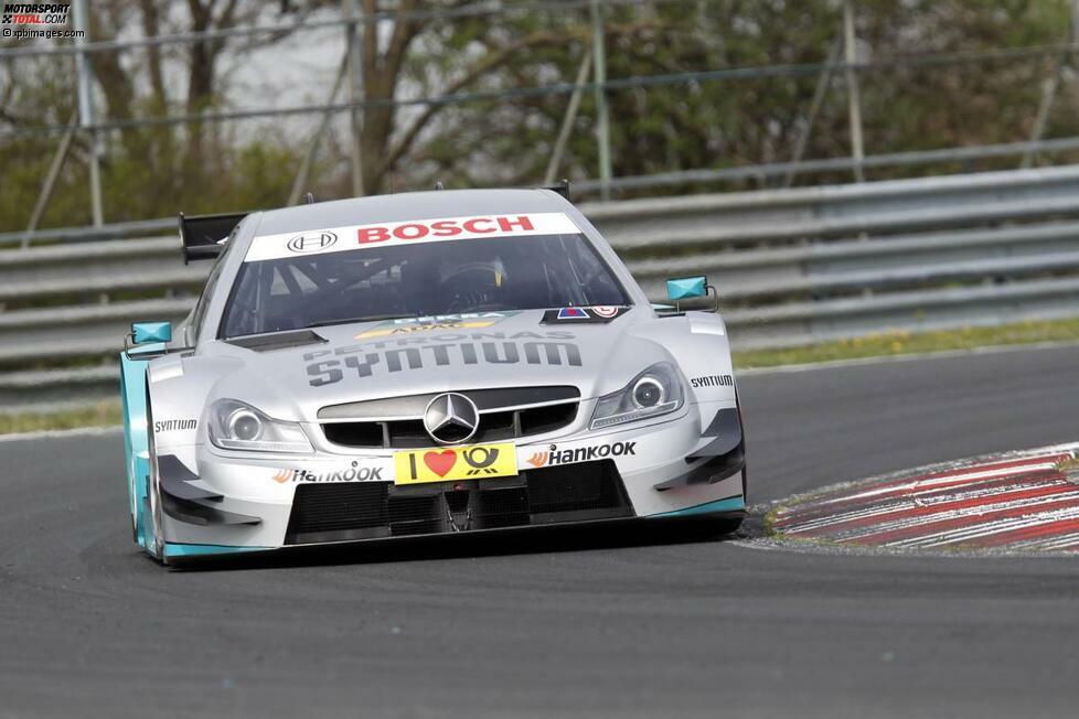 Vorderansicht Mercedes AMG C-Coupé DTM 2014
