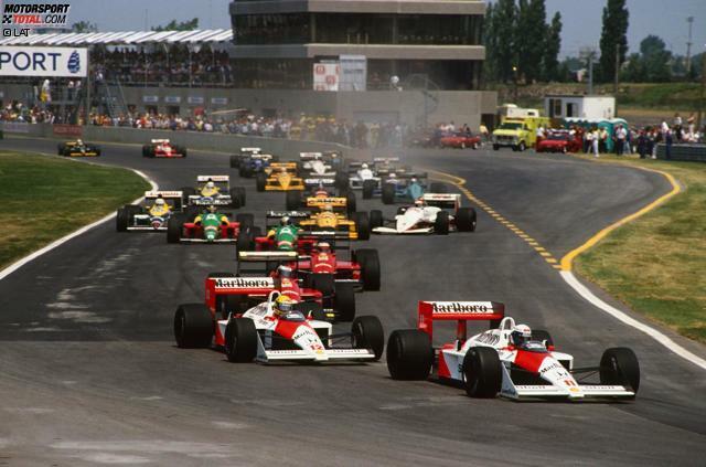 McLaren kann beim Großen Preis von Kanada auf 13 Siege zurückblicken und ist damit das erfolgreichste Team. Ferrari liegt mit elf Siegen auf Rang zwei.