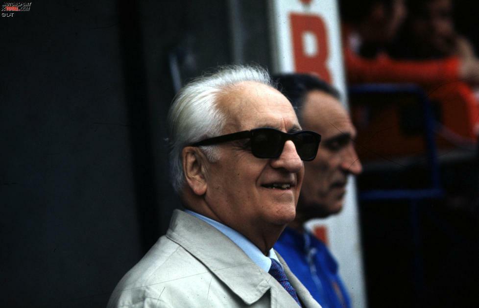 Mit ihm hat alles angefangen: Enzo Ferrari gründete 1929 die Scuderia Ferrari, die seit Beginn der Formel-1-WM im Jahr 1950 fester Bestandteil ist. Gleich in den ersten Jahren wurden einige Rennleiter verschlissen: Federico Giberti (1950-1951), Nello Ugolini (1952-1955), Eraldo Sculati (1956) und Mino Amorotti (1957). Wahrer Chef war bis zu seinem Tod im Jahr 1988 sowieso immer der